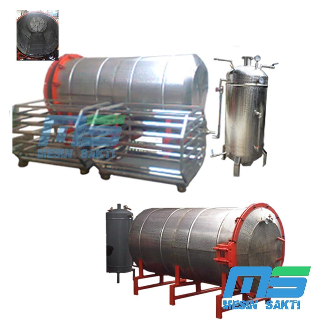 Mesin Steamer Baglog Jamur