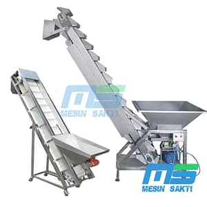 Mesin Elevator Conveyor Bersirip