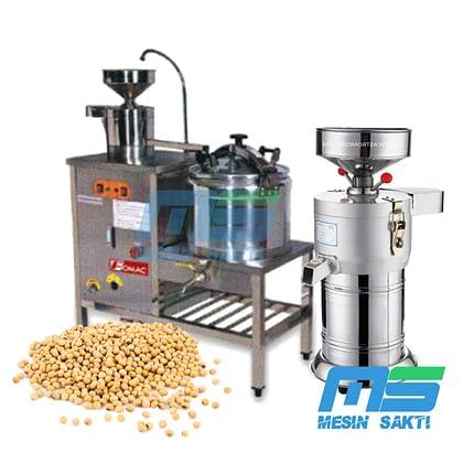 Mesin Pembuat Susu Kedelai | Alat Penggiling Sari Kedelai