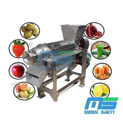 Mesin Pemeras Buah-Buahan | Alat Pemisah Daging Buah
