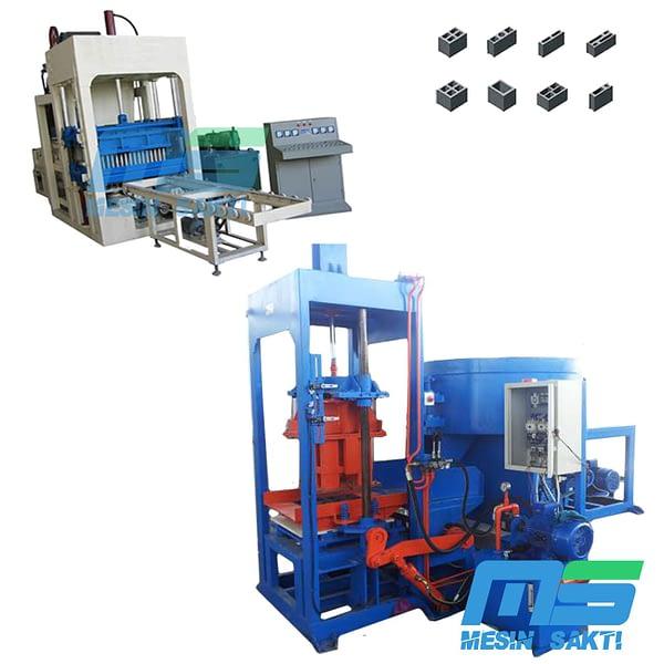 Mesin Pencetak Batako Paving